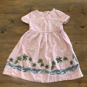 Old Navy palm tree dress. Size 4t